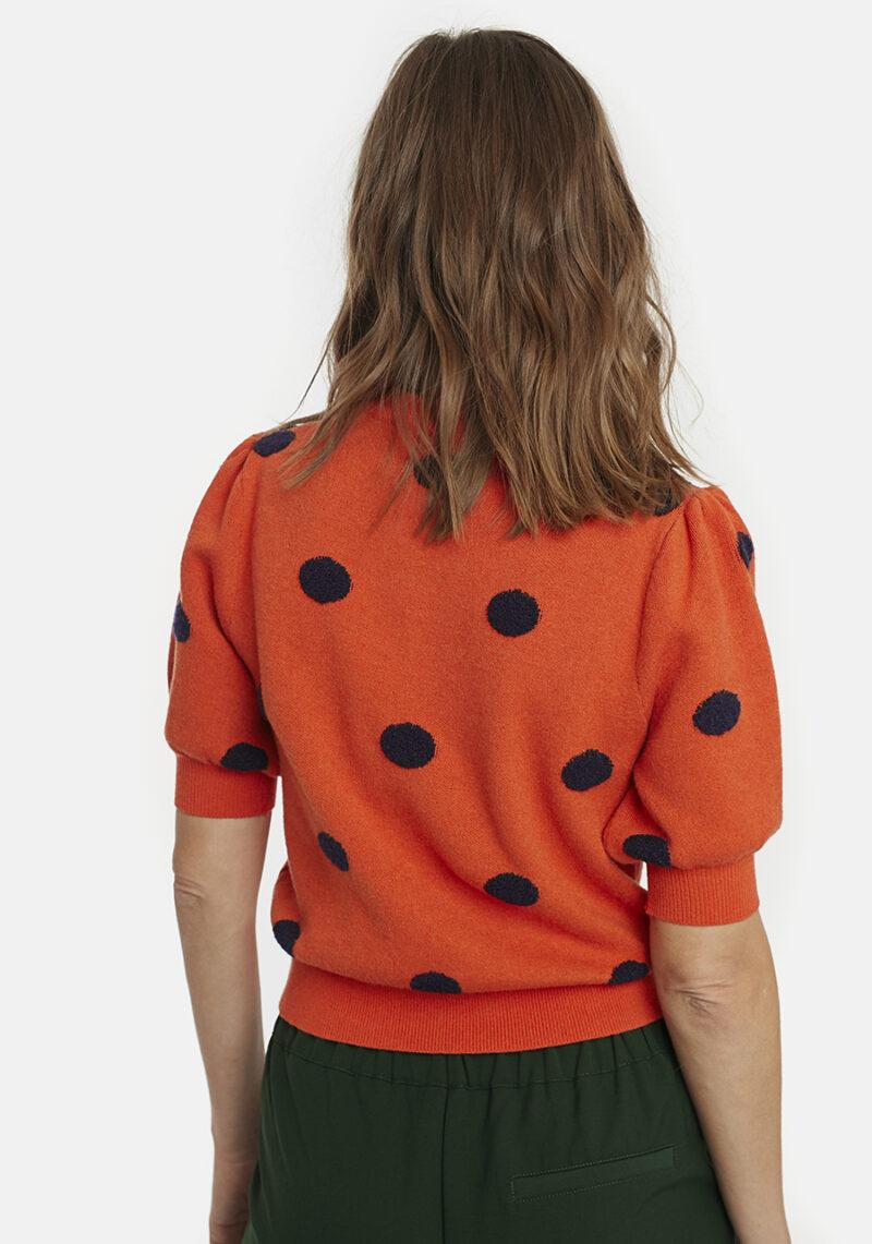 jersey-naranja-manga-abullonada