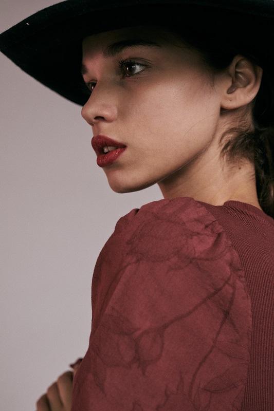 vestido-granate-valeria-mangas-cortas