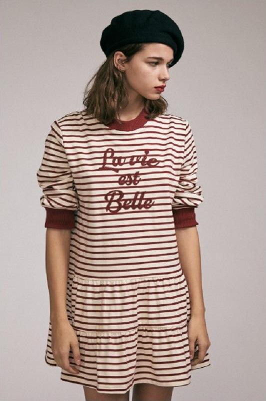 vestido-rayas-granates-belle