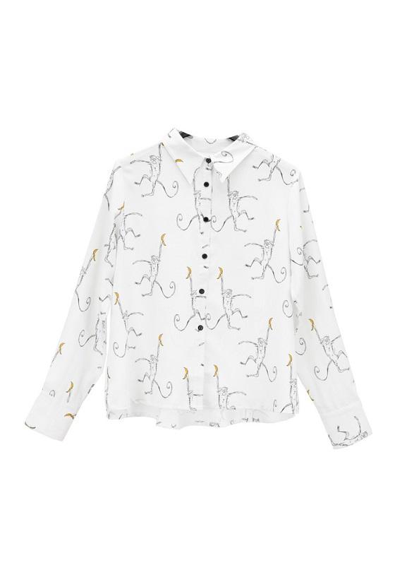 camisa-sencilla-monkey-banana