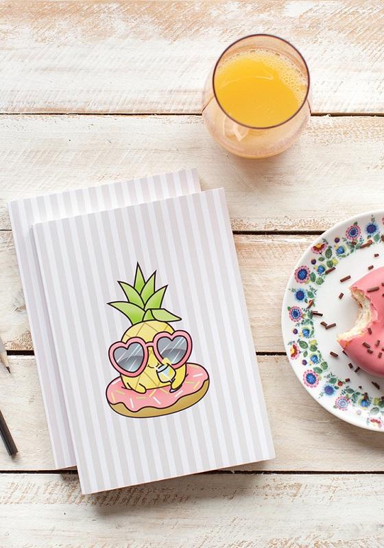 cuaderno-dibujo-pina-colada-kawaii