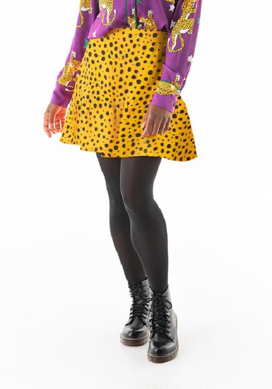 falda-amarilla-volante-magic-feline
