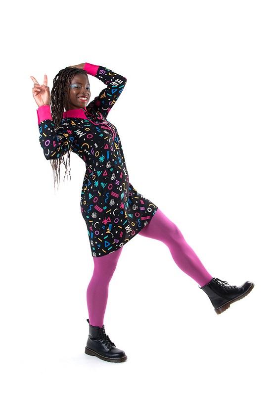 vestido-camisero-estampado-multicolor-graphic
