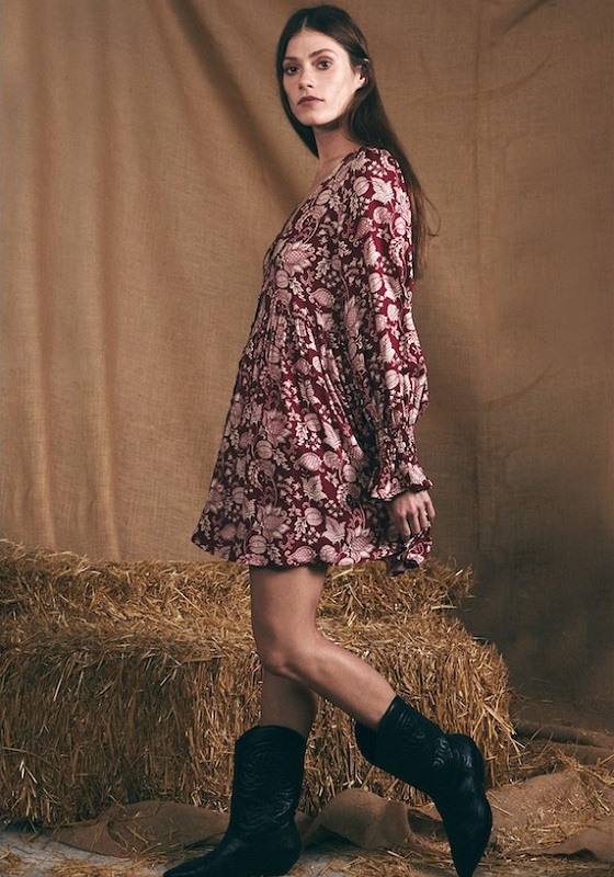 vestido-corto-estampado-vintage-celine