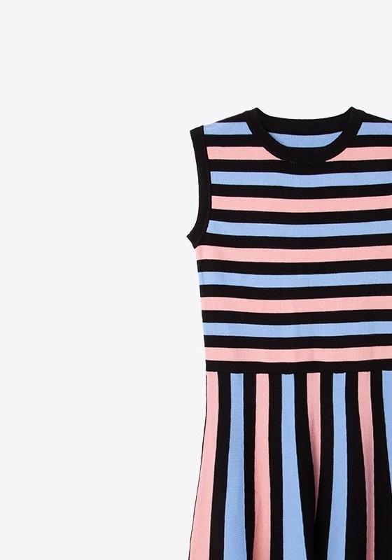 vestido-punto-rayas-colores