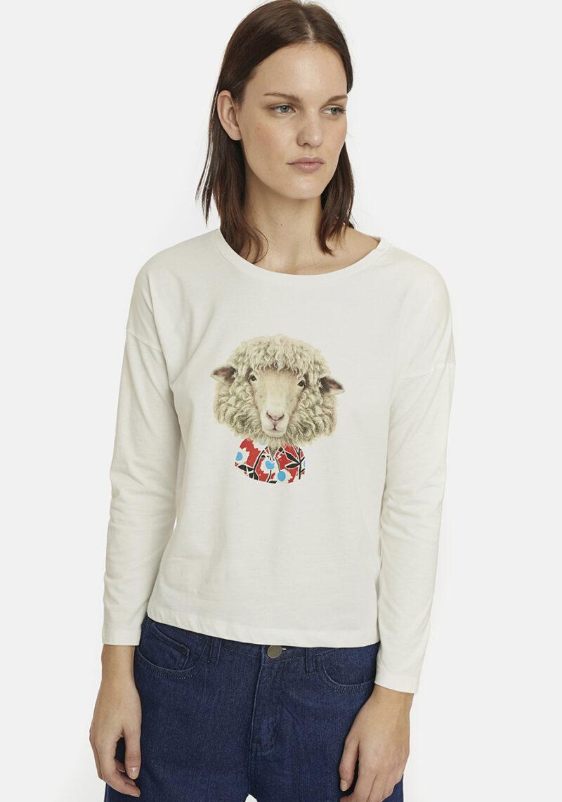 camiseta-cuello-redondo-oveja