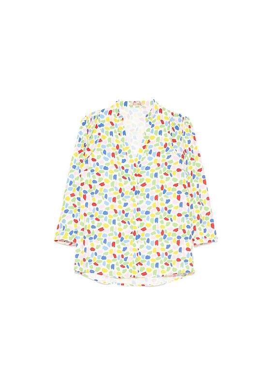 blusa-blanca-escote-pico-multicolor