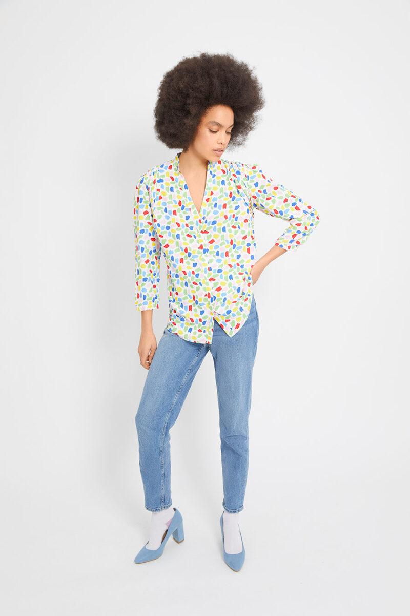 blusa-escote-pico-multicolor