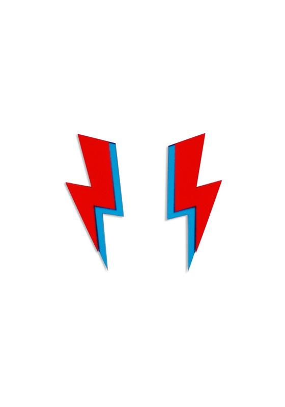 pendientes-bowie-rayo-rojo-azul