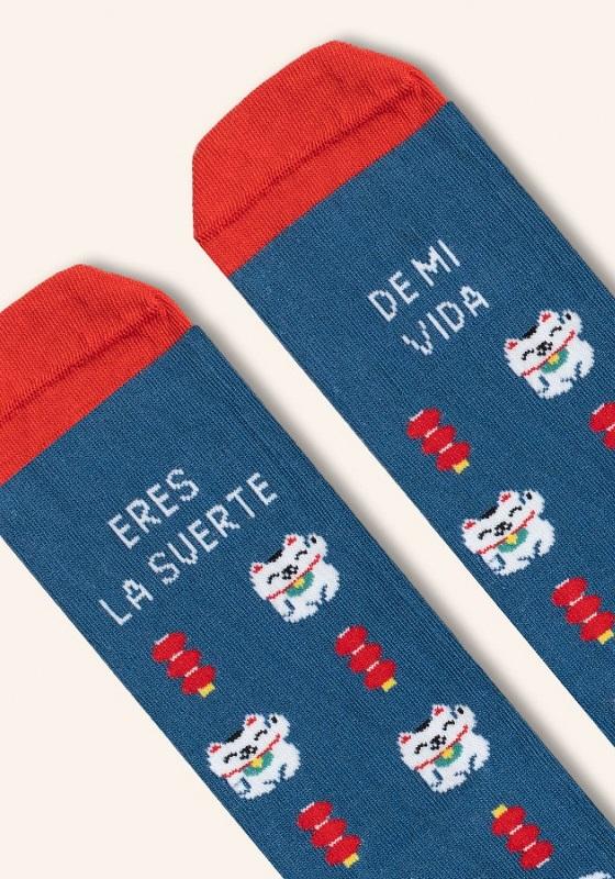 calcetines-divertidos-eres-la-suerte-de-mi-vida