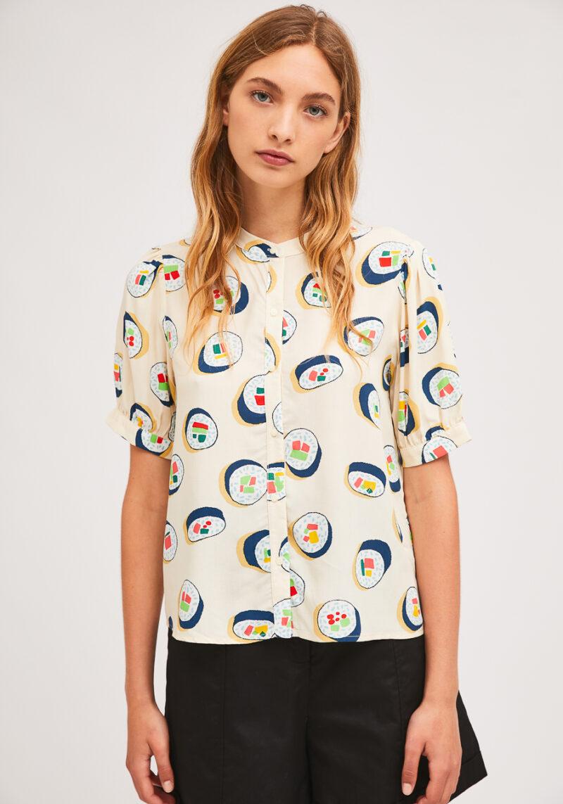 camisa-estampado-sushi