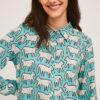 camisa-turquesa-estampado-gatos
