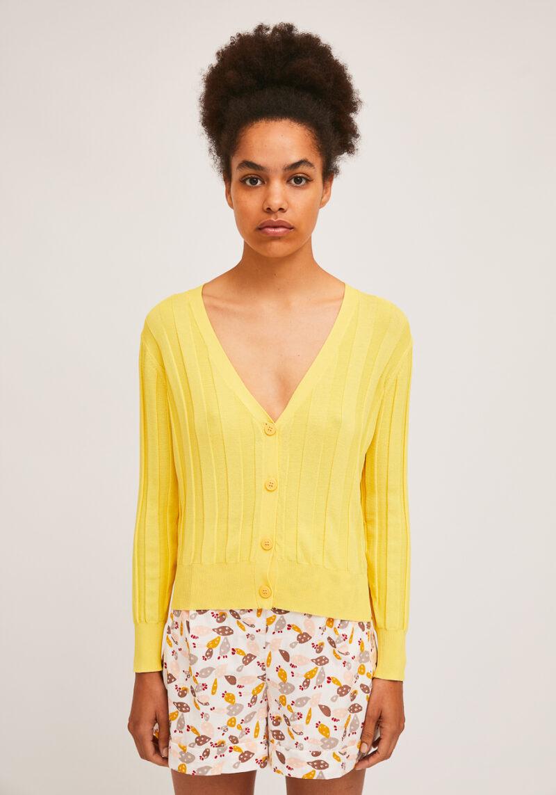 chaqueta-punto-canale-amarillo