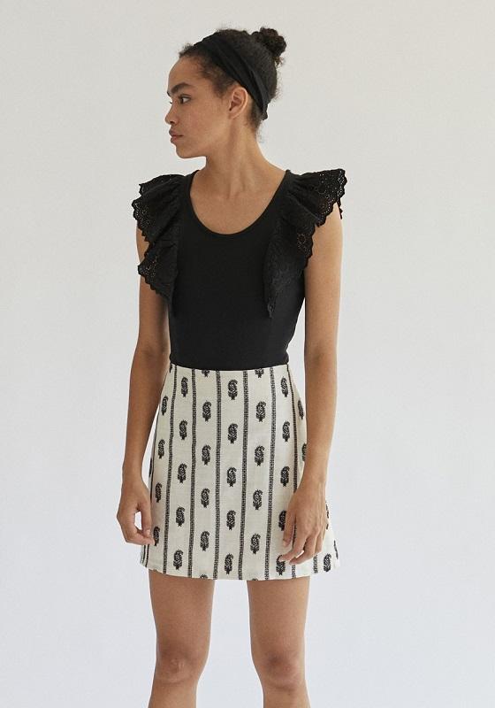 falda-corta-blanco-negro-celia
