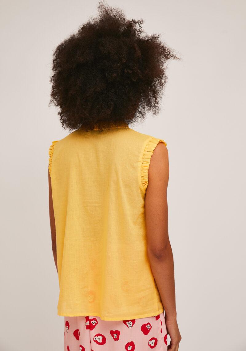 top-sin-mangas-amarillo