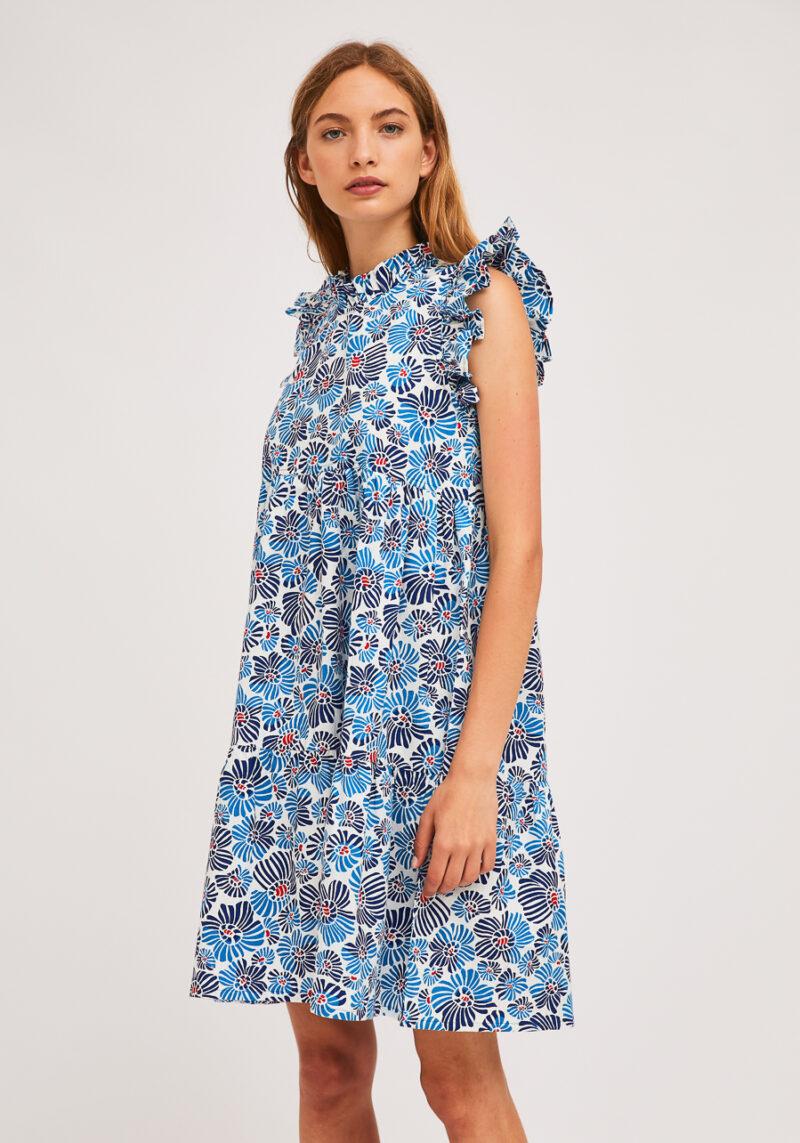 vestido-corto-flores-azules