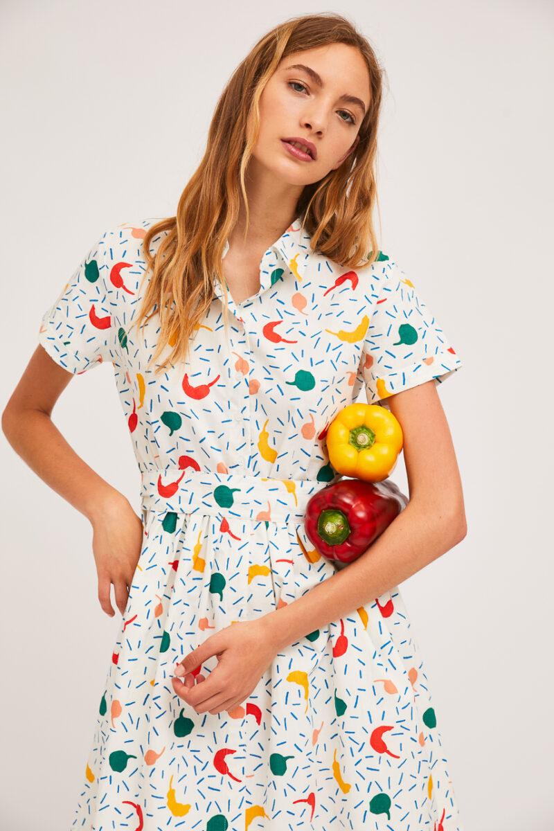 vestido-estampado-chiles-pimientos