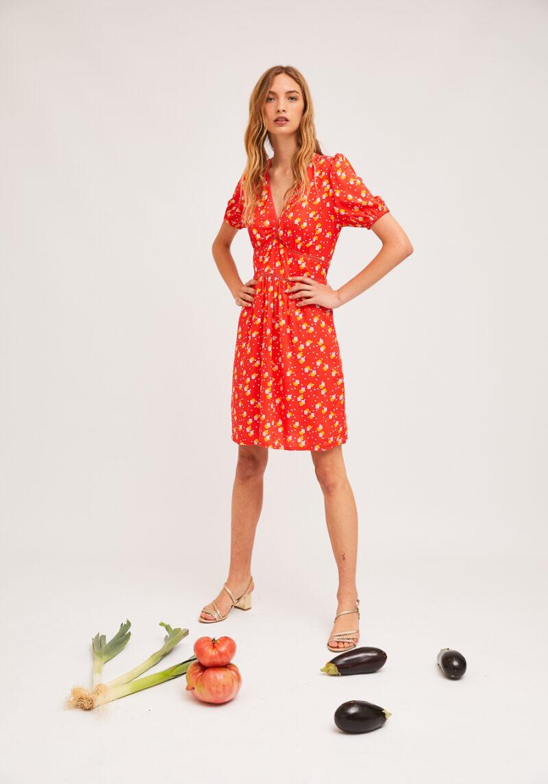 vestido-mangas-cortas-naranjada