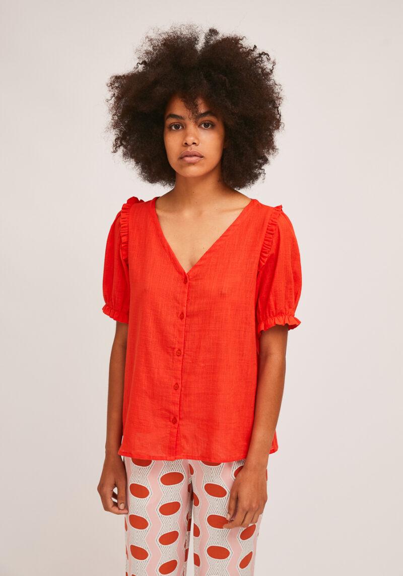 camisa-roja-mangas-cortas-rogelia