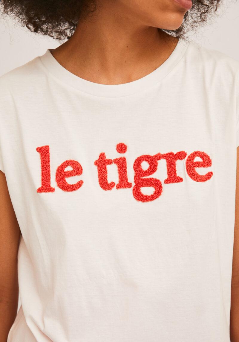 camiseta-blanca-le-tigre-sin-mangas