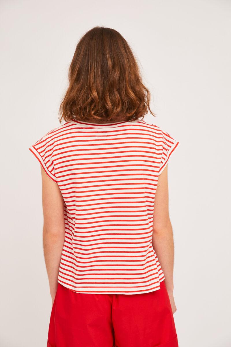 camiseta-cuello-redondo-marinerita-roja