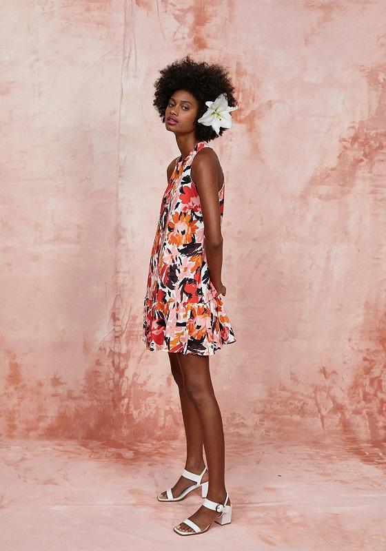 vestido-corto-estampado-naranja