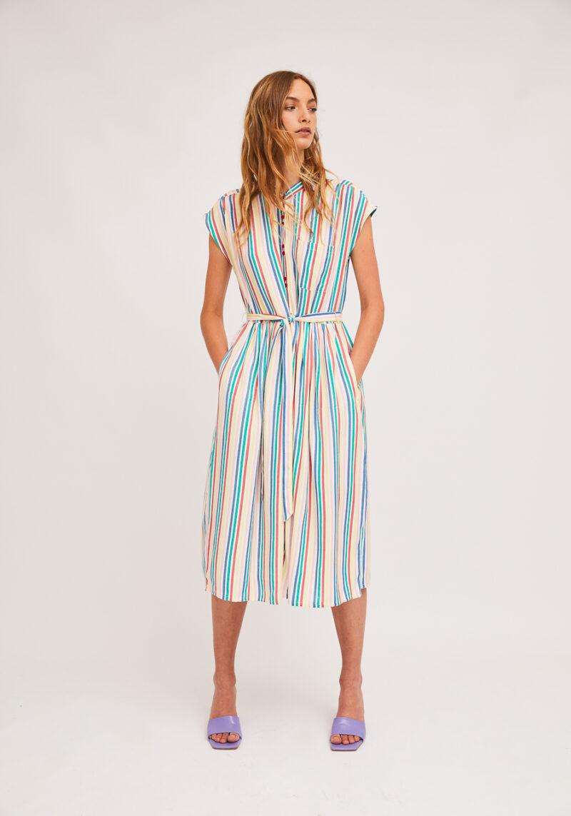 vestido-rayas-rainbow-midi