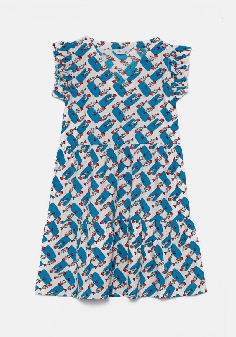 vestido-corto-estampado-sardinas