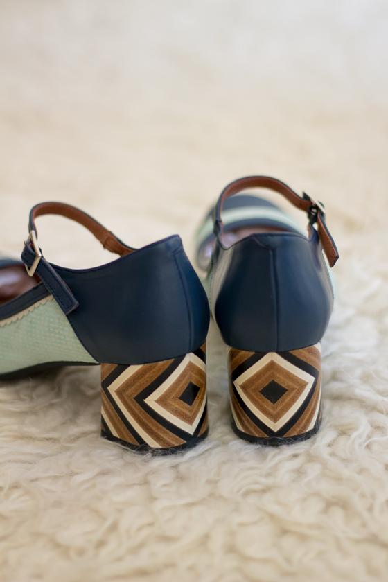 zapatos-vintage-azul-turquesa-hebilla