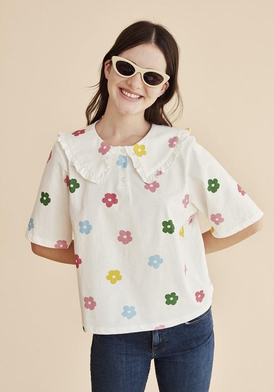 camiseta-algodon-flores