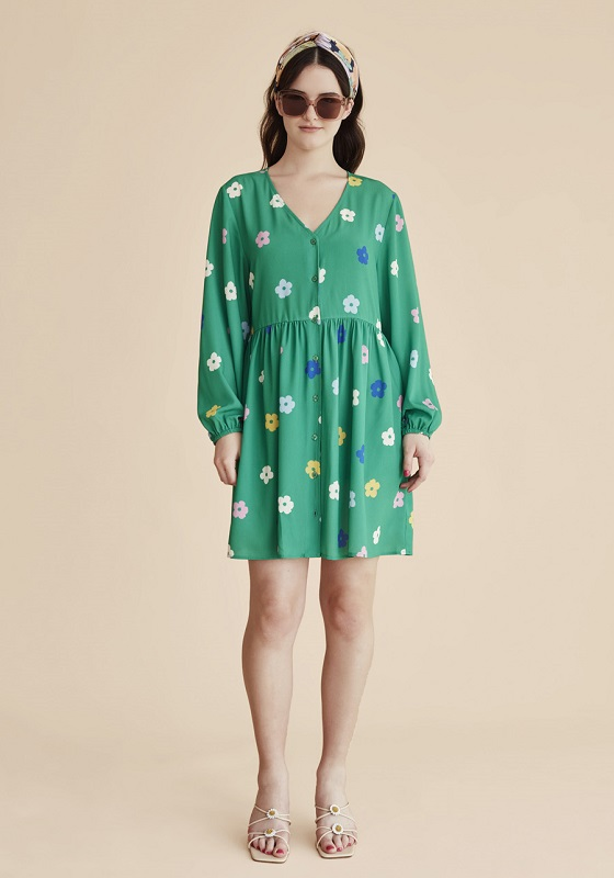 vestido-verde-estampado-flores