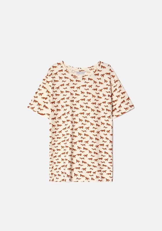 camiseta-zorros-mangas-cortas