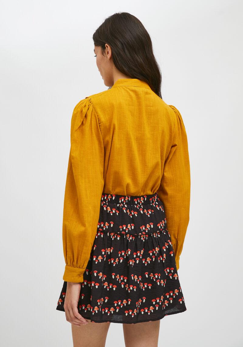 falda-corta-cintura-elastico-setas