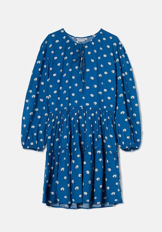 vestido-azul-mangas-largas-ovejas
