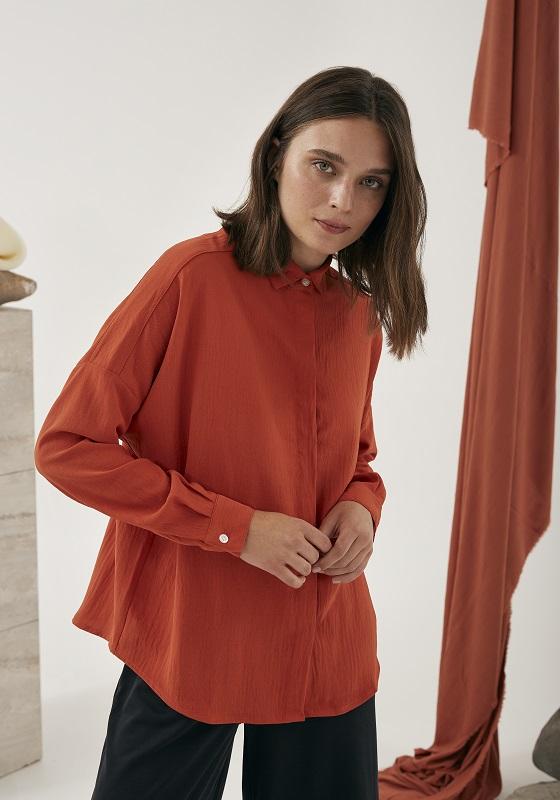 camisa-mangas-largas-naranja