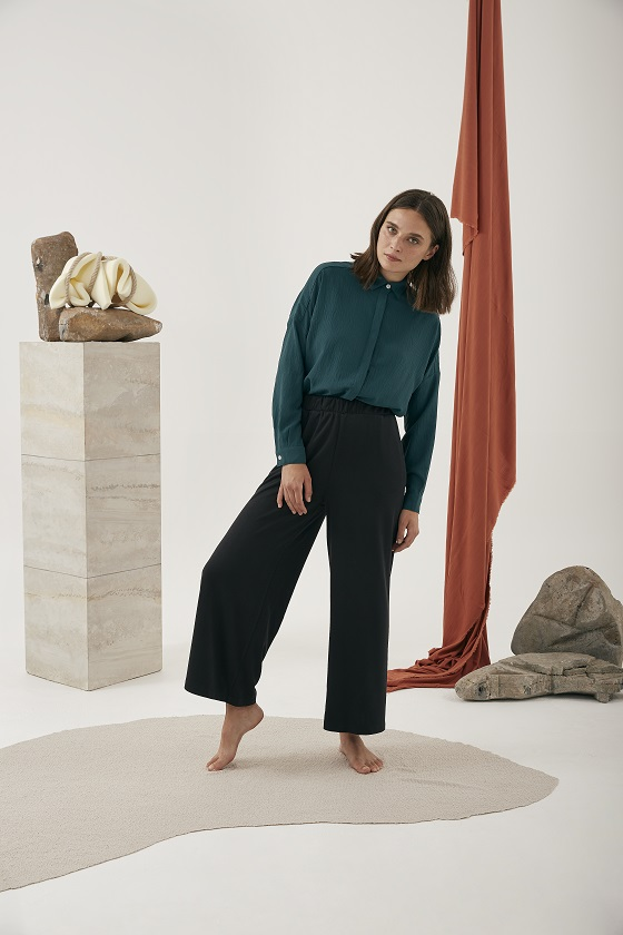 camisa-verde-alia-mangas-largas