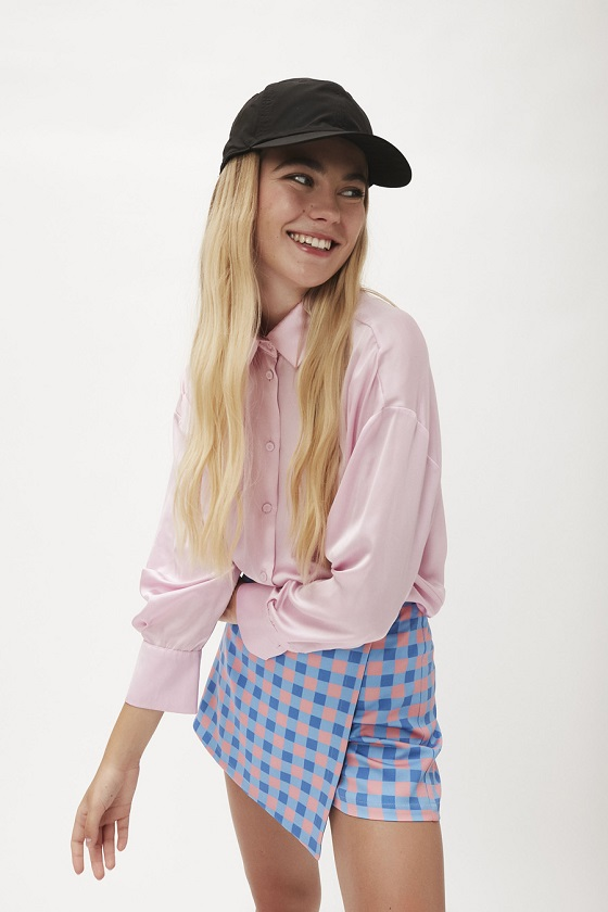 falda-pantalon-cuadritos-vichy-rosa