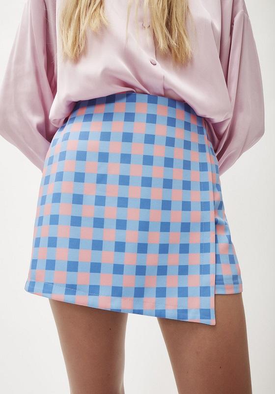 falda-pantalon-cuadros-vichy-rosa-celeste