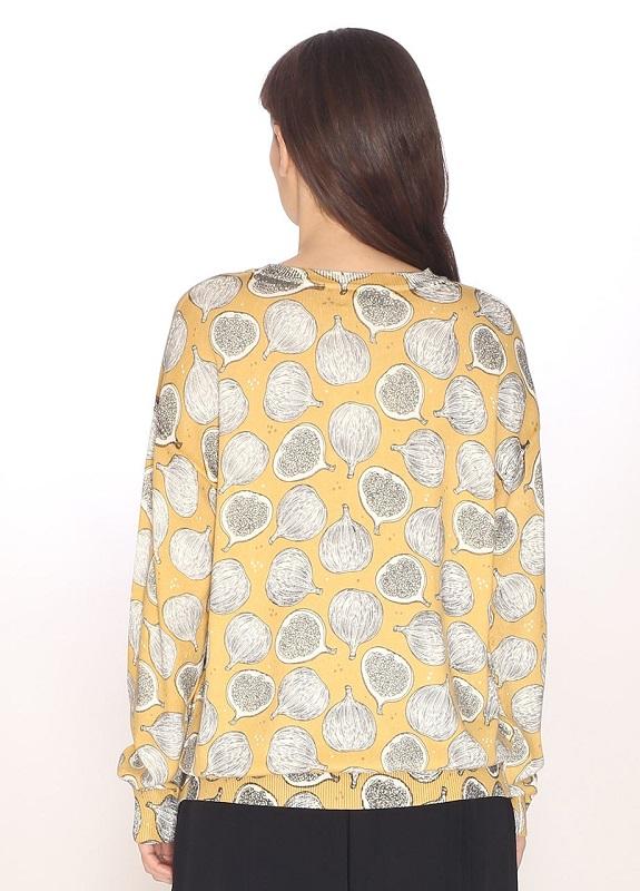 sweater fino-amarillo-estampado-higos-figs