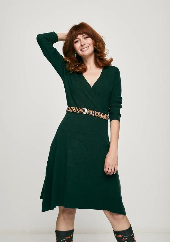vestido-punto-mangas-largas-verde