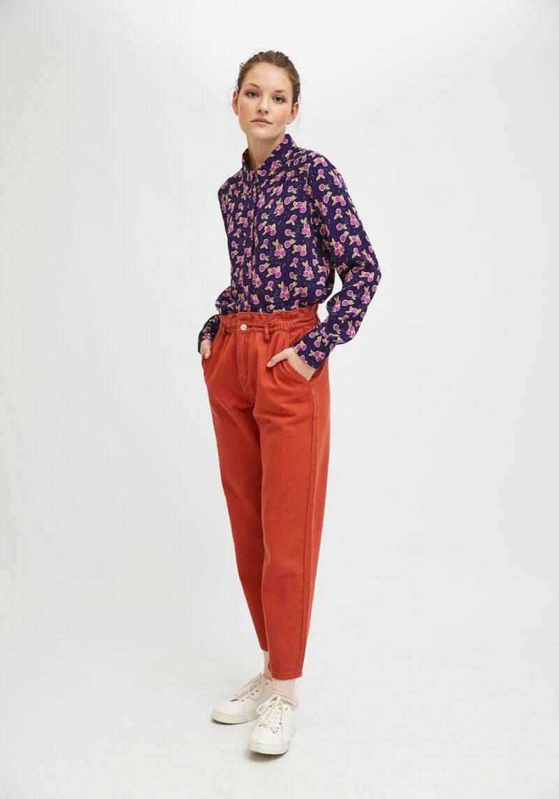 camisa-morada-estampad