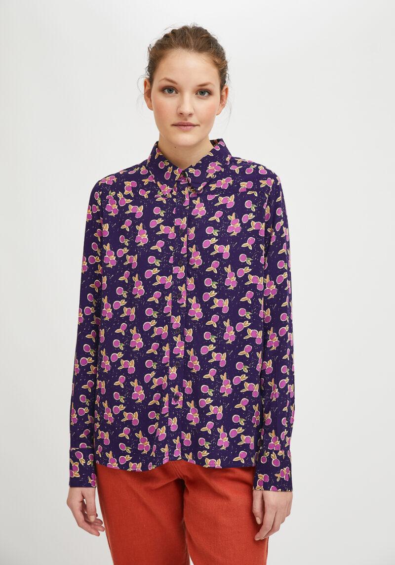 camisa-morado-estampado-ciruela