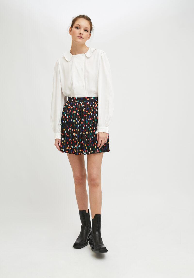 falda-negra-lunares-colores