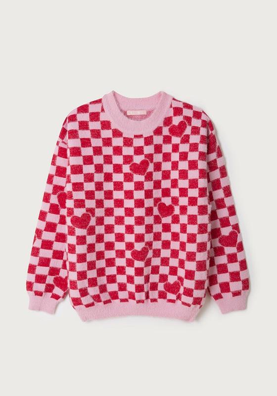 jersey-corazones-cuadros-rosa-rojo-enamorado