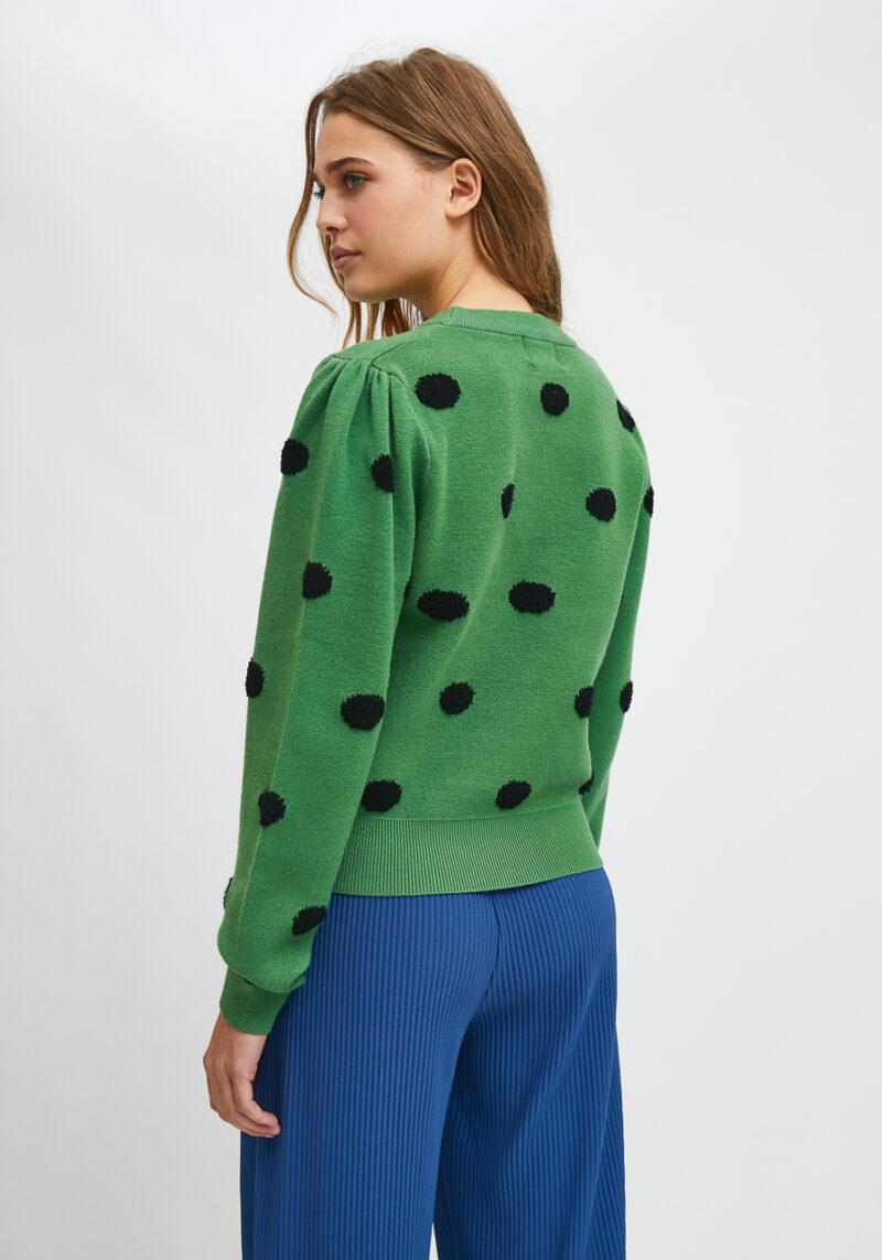 jersey-verde-lunares-negros-eucalipto