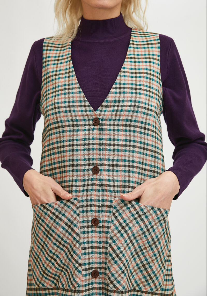 vestido-pichi-abotonado-cuadros-escoceses